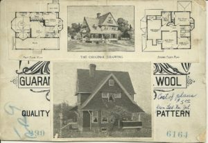House Plans back of card